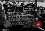 Image of prisoner's interview Dachau Germany, 1945, second 3 stock footage video 65675055230