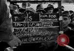 Image of prisoner's interview Dachau Germany, 1945, second 4 stock footage video 65675055230
