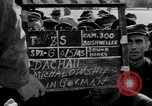 Image of prisoner's interview Dachau Germany, 1945, second 5 stock footage video 65675055230