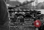 Image of prisoner's interview Dachau Germany, 1945, second 8 stock footage video 65675055230