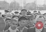 Image of prisoner's interview Dachau Germany, 1945, second 12 stock footage video 65675055231
