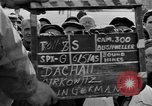 Image of prisoner's interview Dachau Germany, 1945, second 3 stock footage video 65675055232
