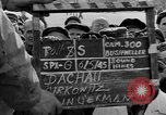 Image of prisoner's interview Dachau Germany, 1945, second 5 stock footage video 65675055232