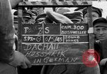 Image of prisoner's interview Dachau Germany, 1945, second 2 stock footage video 65675055233