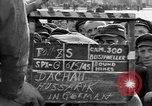 Image of prisoner's interview Dachau Germany, 1945, second 4 stock footage video 65675055233