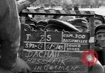 Image of prisoner's interview Dachau Germany, 1945, second 6 stock footage video 65675055233