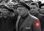 Image of prisoner's interview Dachau Germany, 1945, second 12 stock footage video 65675055233