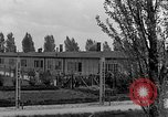 Image of prisoners Dachau Germany, 1945, second 2 stock footage video 65675055240