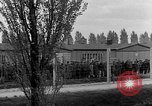 Image of prisoners Dachau Germany, 1945, second 8 stock footage video 65675055240