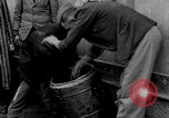 Image of prisoners Dachau Germany, 1945, second 5 stock footage video 65675055241