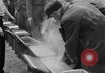 Image of prisoners Dachau Germany, 1945, second 9 stock footage video 65675055243