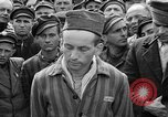 Image of interview of prisoner Dachau Germany, 1945, second 10 stock footage video 65675055247