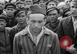 Image of interview of prisoner Dachau Germany, 1945, second 11 stock footage video 65675055247