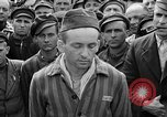Image of interview of prisoner Dachau Germany, 1945, second 12 stock footage video 65675055247