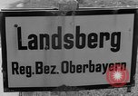 Image of dead bodies Landsberg Germany, 1945, second 4 stock footage video 65675055255
