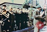 Image of liberation ceremony Dachau Germany, 1945, second 6 stock footage video 65675055258
