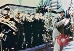 Image of liberation ceremony Dachau Germany, 1945, second 7 stock footage video 65675055258