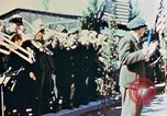 Image of liberation ceremony Dachau Germany, 1945, second 8 stock footage video 65675055258