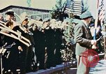 Image of liberation ceremony Dachau Germany, 1945, second 9 stock footage video 65675055258