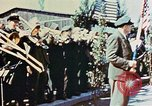 Image of liberation ceremony Dachau Germany, 1945, second 10 stock footage video 65675055258