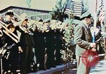 Image of liberation ceremony Dachau Germany, 1945, second 11 stock footage video 65675055258
