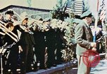 Image of liberation ceremony Dachau Germany, 1945, second 12 stock footage video 65675055258