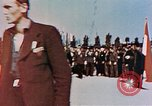 Image of Ceremony Dachau Germany, 1945, second 4 stock footage video 65675055271