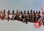 Image of Ceremony Dachau Germany, 1945, second 5 stock footage video 65675055271