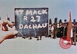 Image of Ceremony Dachau Germany, 1945, second 6 stock footage video 65675055271