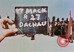 Image of Ceremony Dachau Germany, 1945, second 7 stock footage video 65675055271