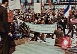 Image of Ceremony Dachau Germany, 1945, second 7 stock footage video 65675055272