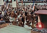 Image of Ceremony Dachau Germany, 1945, second 10 stock footage video 65675055272