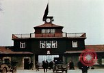 Image of Buchenwald Concentration Camp gate Ettersberg Germany, 1945, second 2 stock footage video 65675055279