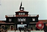 Image of Buchenwald Concentration Camp gate Ettersberg Germany, 1945, second 5 stock footage video 65675055279