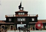 Image of Buchenwald Concentration Camp gate Ettersberg Germany, 1945, second 6 stock footage video 65675055279