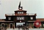 Image of Buchenwald Concentration Camp gate Ettersberg Germany, 1945, second 7 stock footage video 65675055279