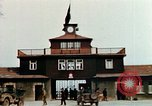 Image of Buchenwald Concentration Camp gate Ettersberg Germany, 1945, second 8 stock footage video 65675055279