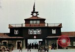 Image of Buchenwald Concentration Camp gate Ettersberg Germany, 1945, second 9 stock footage video 65675055279