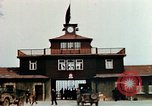Image of Buchenwald Concentration Camp gate Ettersberg Germany, 1945, second 10 stock footage video 65675055279