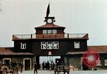Image of Buchenwald Concentration Camp gate Ettersberg Germany, 1945, second 11 stock footage video 65675055279