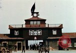 Image of Buchenwald Concentration Camp gate Ettersberg Germany, 1945, second 12 stock footage video 65675055279