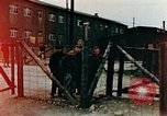 Image of Buchenwald Concentration Camp barracks Ettersberg Germany, 1945, second 2 stock footage video 65675055282