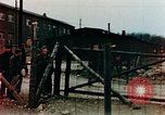 Image of Buchenwald Concentration Camp barracks Ettersberg Germany, 1945, second 8 stock footage video 65675055282