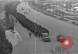 Image of German prisoners after Dachau liberation Bavaria Germany, 1945, second 5 stock footage video 65675055302