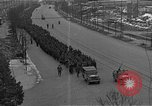 Image of German prisoners after Dachau liberation Bavaria Germany, 1945, second 6 stock footage video 65675055302