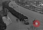 Image of German prisoners after Dachau liberation Bavaria Germany, 1945, second 7 stock footage video 65675055302