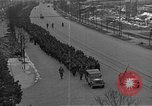 Image of German prisoners after Dachau liberation Bavaria Germany, 1945, second 8 stock footage video 65675055302
