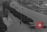 Image of German prisoners after Dachau liberation Bavaria Germany, 1945, second 10 stock footage video 65675055302