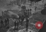 Image of burning TBF Avenger Pacific Ocean, 1945, second 2 stock footage video 65675055312
