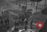 Image of burning TBF Avenger Pacific Ocean, 1945, second 3 stock footage video 65675055312